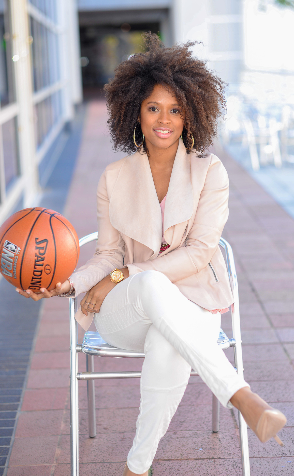 How one woman is breaking barriers in the sports industry
